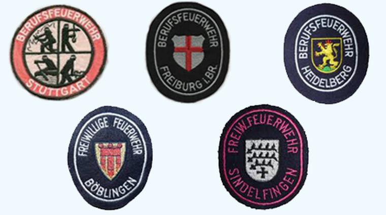 Embleme Betriebsgruppen